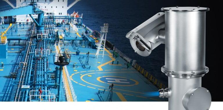 VIDEOTEC CCTV SHIP MARINE